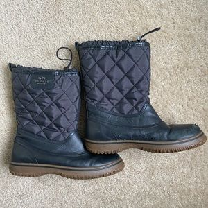 Coach Sparrow Women's Navy Blue Winter Boots 7.5